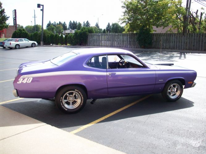 1972 PLYMOUTH DUSTER classic muscle hot rods rod f wallpaper