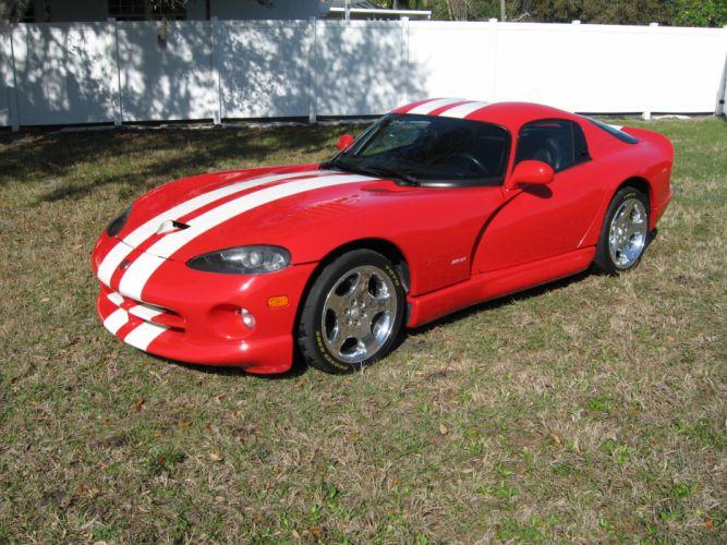 2002 Final Edition GTS Dodge Viper supercars supercar wallpaper