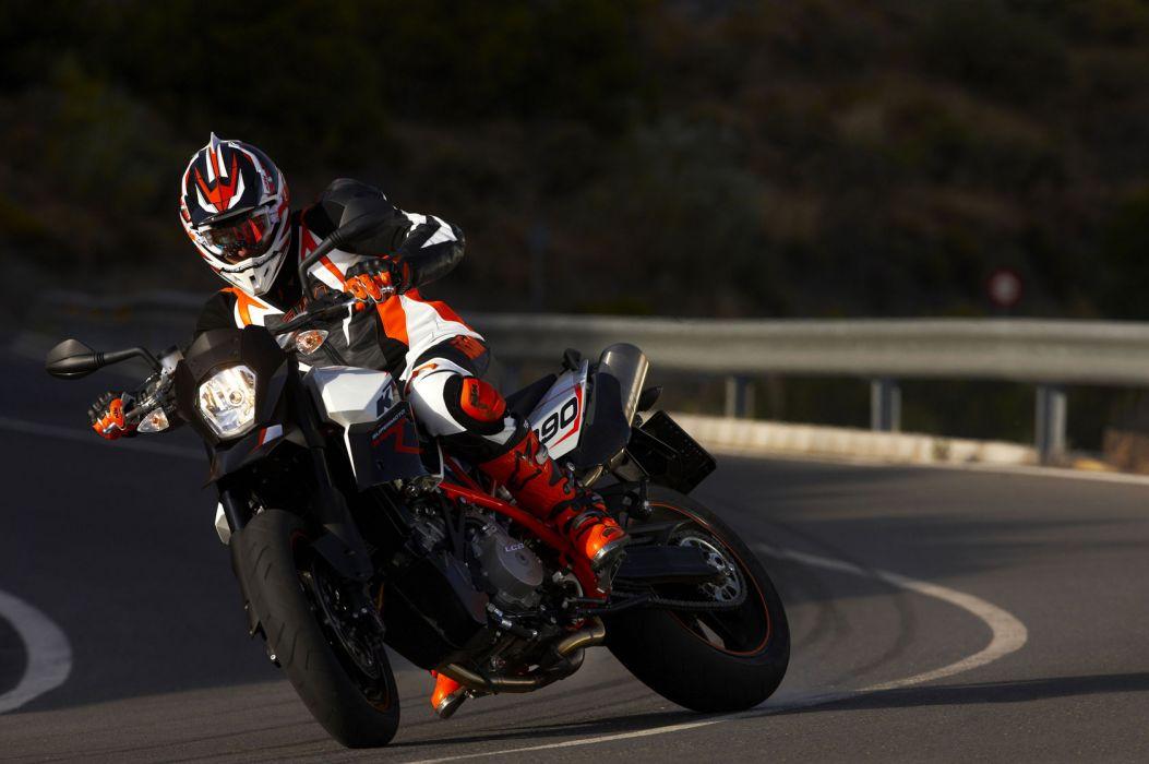 2009 KTM 990 Supermoto-R supermoto race racing    f wallpaper