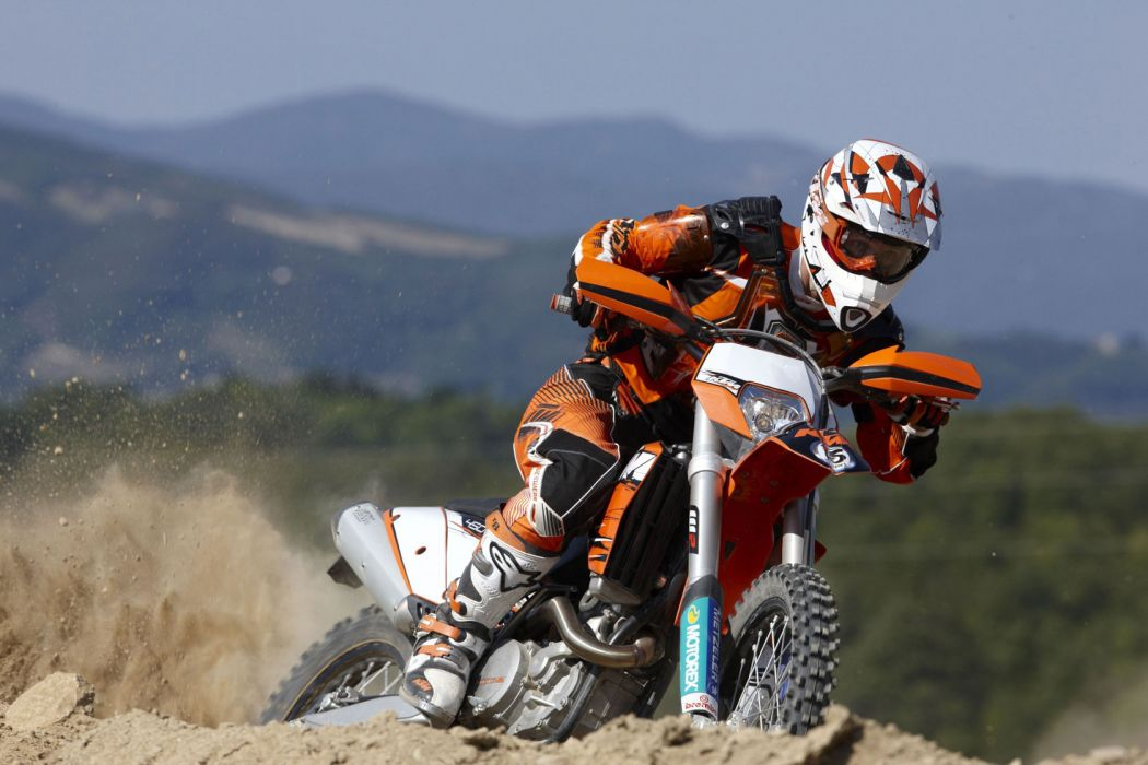 2010 KTM 450 EXC C-E race racing wallpaper