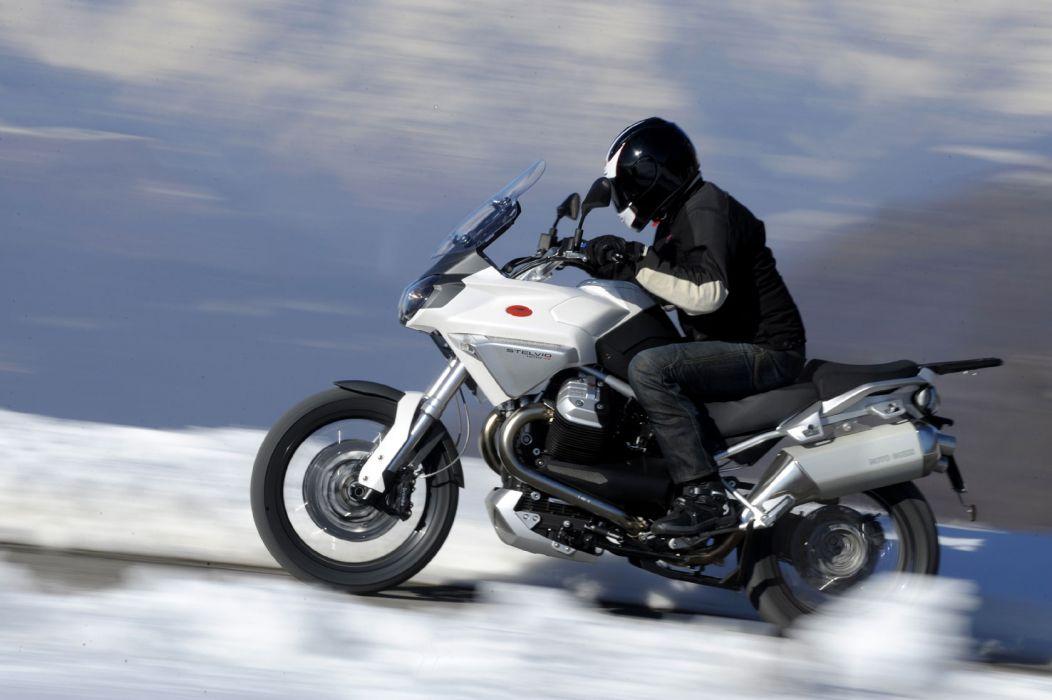 2009 Moto Guzzi Stelvio 1200 4-V wallpaper