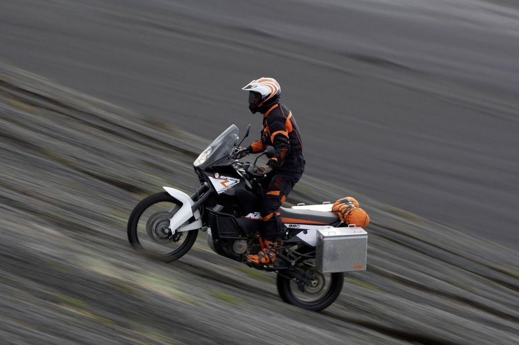 2010 KTM 990 Adventure-R adventure v wallpaper