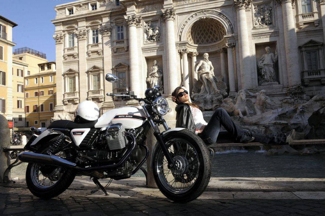 2010 Moto Guzzi V-7 Classic   b wallpaper