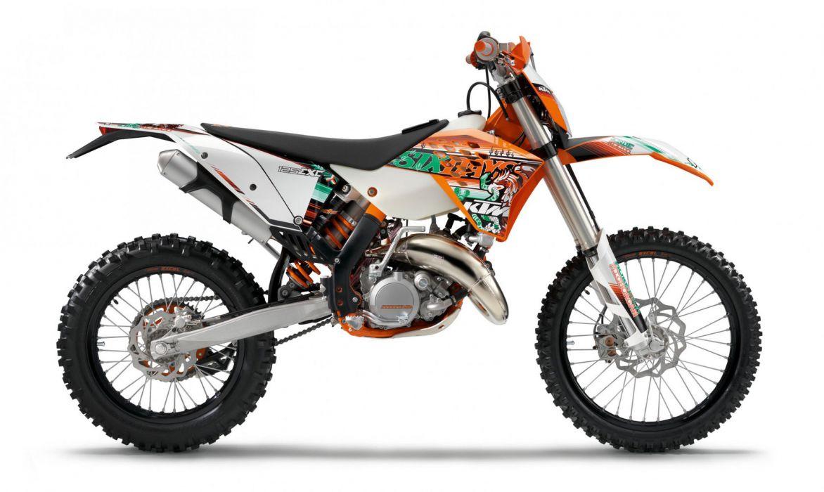 2011 KTM 125 EXC Sixday    h wallpaper