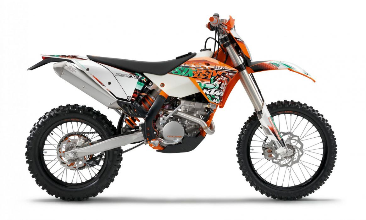 2011 KTM 250 EXC-F Sixdays exc  f wallpaper