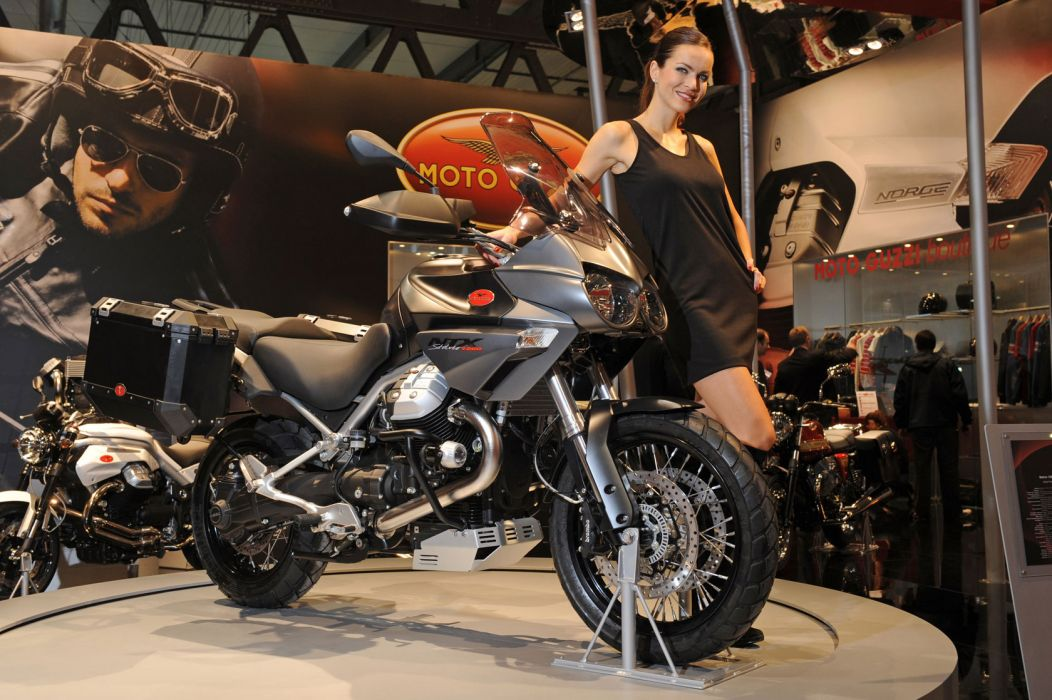 2011 Moto Guzzi Stelvio NTX       f wallpaper