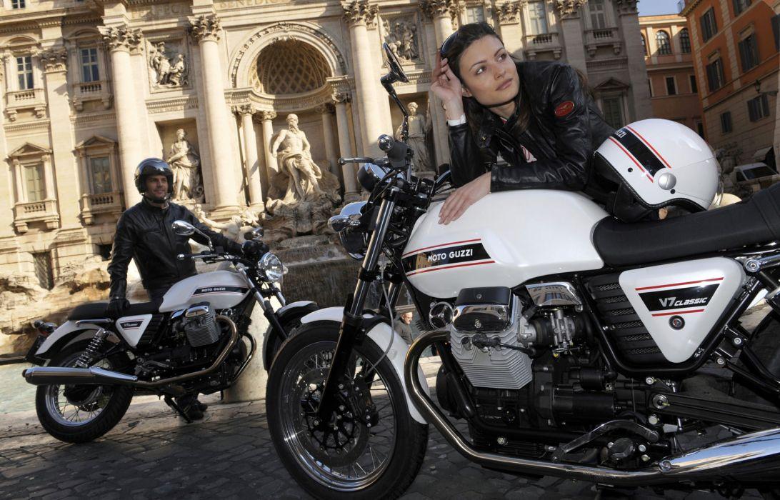 2011 Moto Guzzi V-7 Classic   h wallpaper