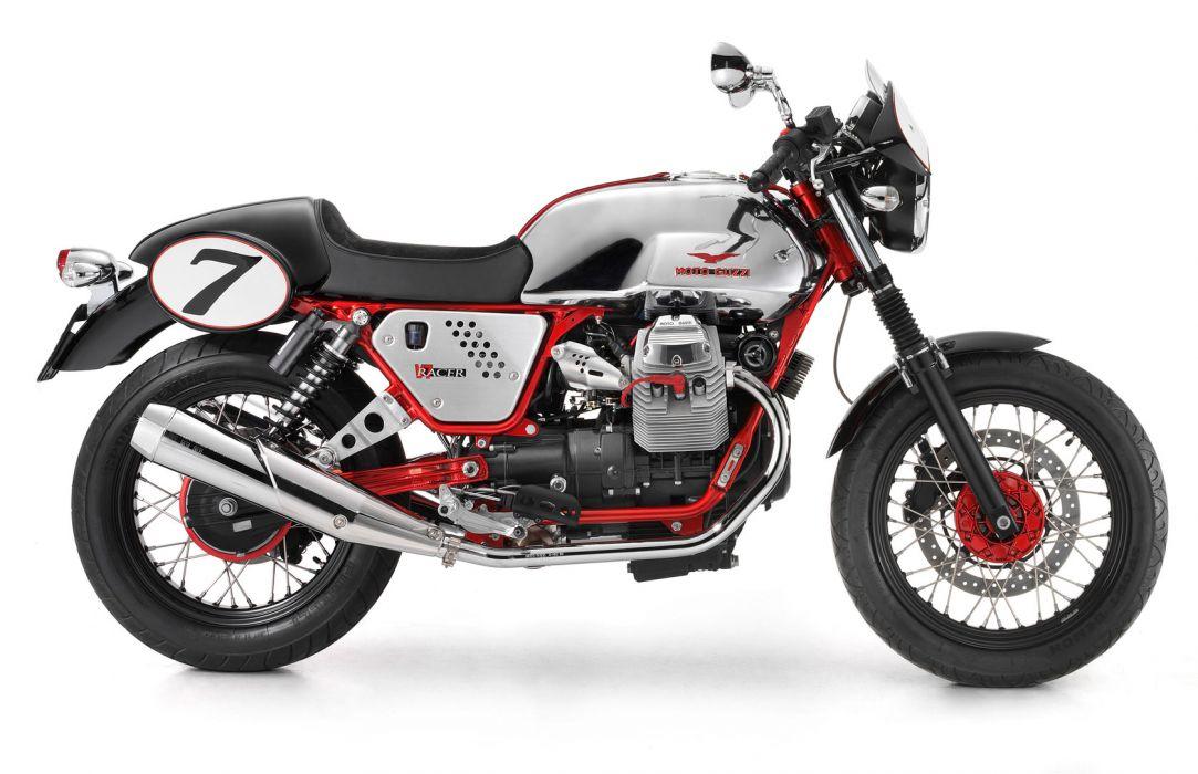 2011 Moto Guzzi V-7 Racer     g wallpaper