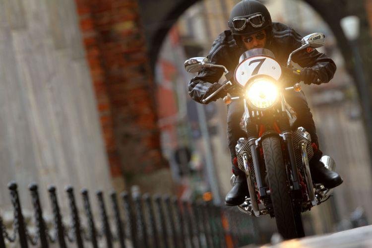 2011 Moto Guzzi V-7 Racer race racing g wallpaper