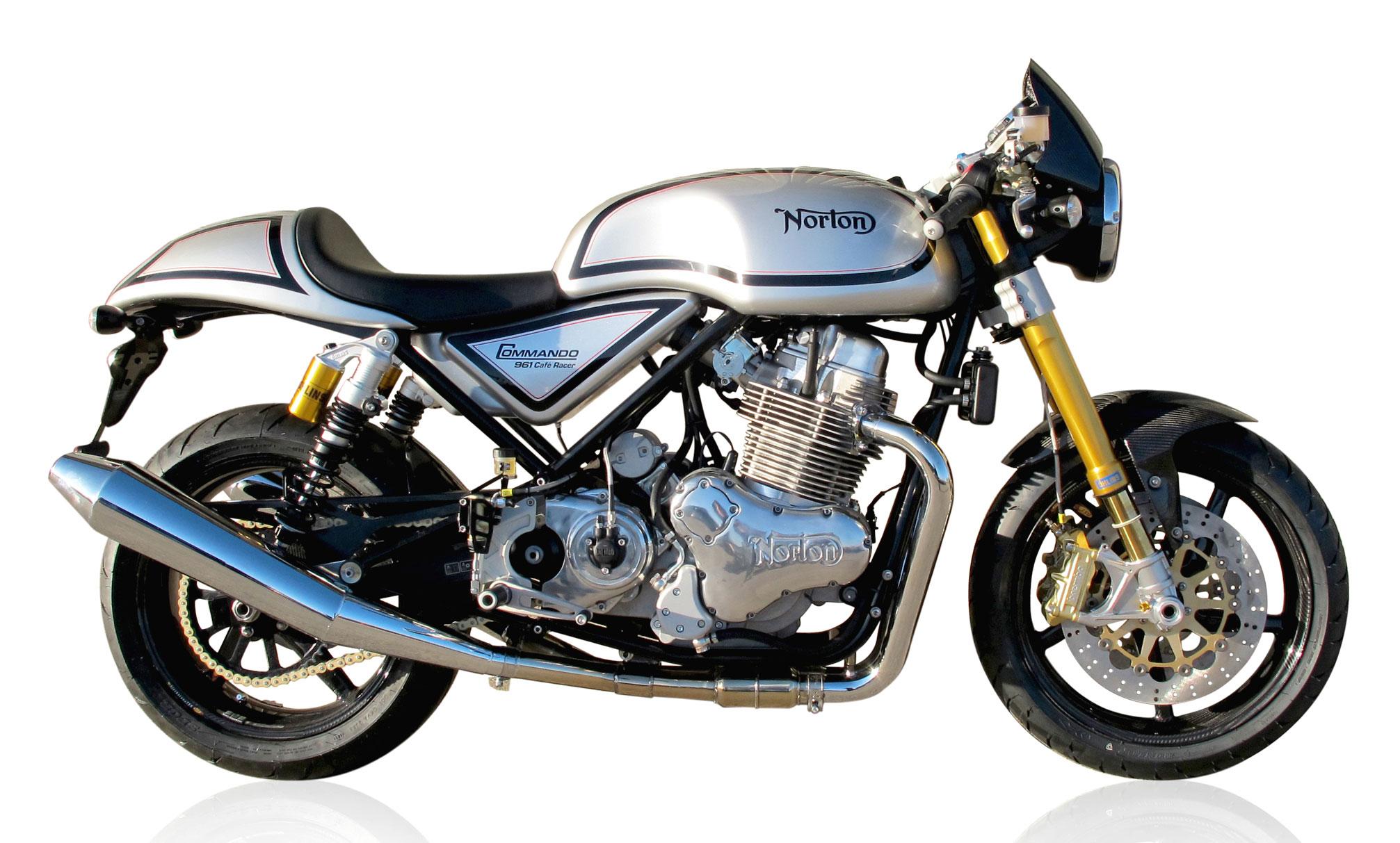 2012 Norton Commando 961 Cafe Racer H Wallpaper