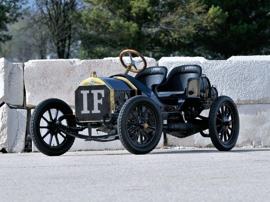1908 Isotta-Fraschini Tipo FENC Semi Racer retro race racing      h wallpaper
