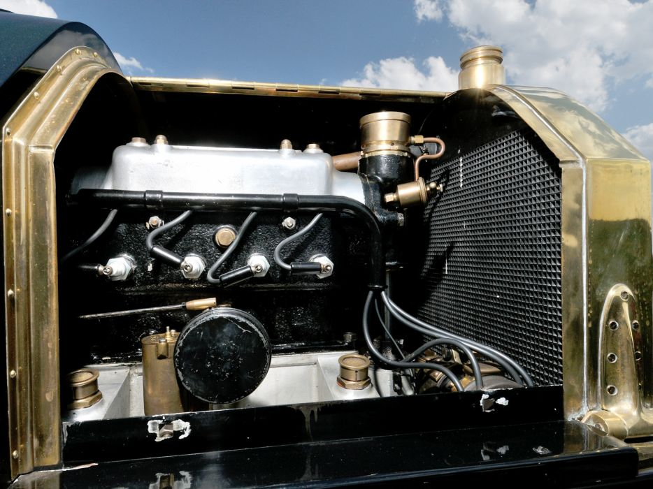 1908 Isotta-Fraschini Tipo FENC Semi Racer retro race racing engine engines wallpaper