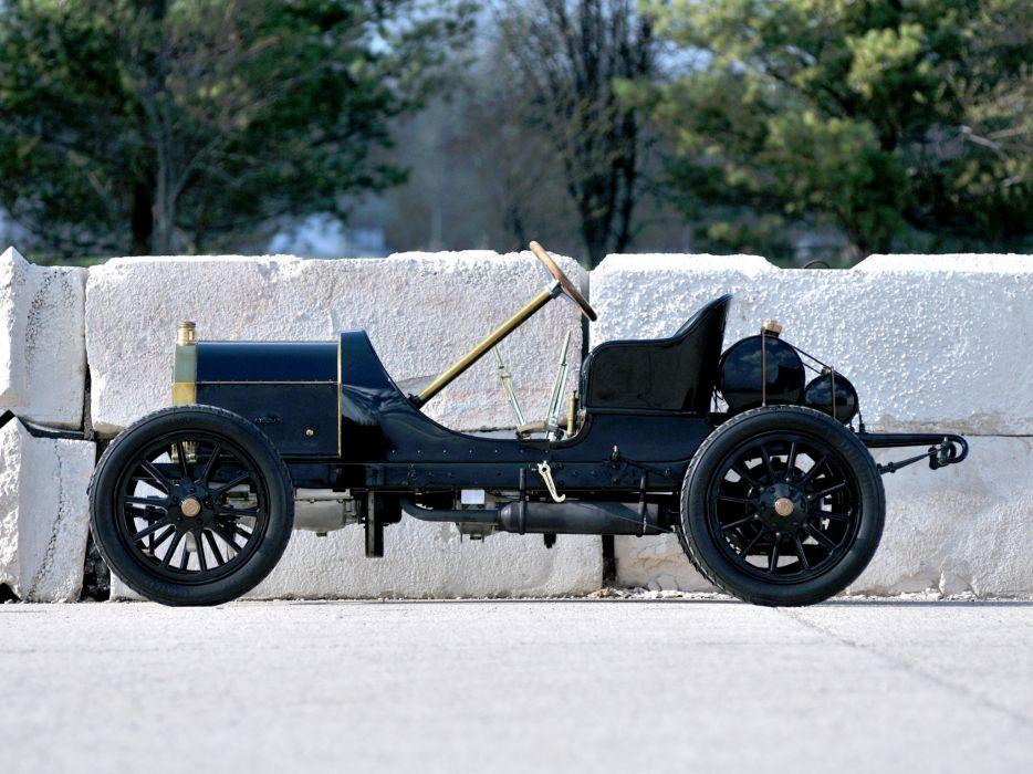 1908 Isotta-Fraschini Tipo FENC Semi Racer retro race racing t wallpaper