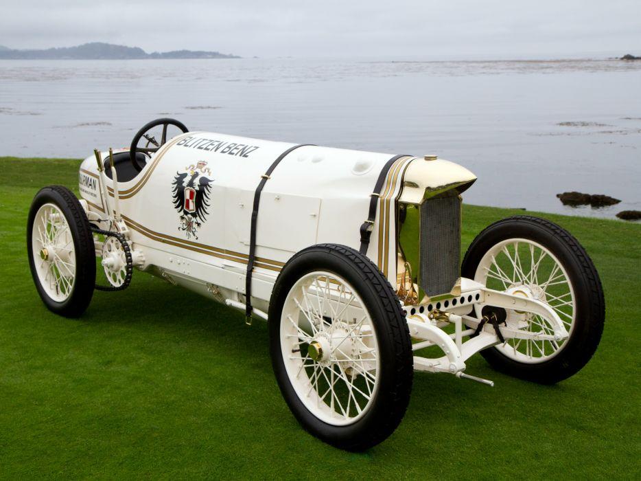 1909 Benz 200 P-S retro race racing w wallpaper