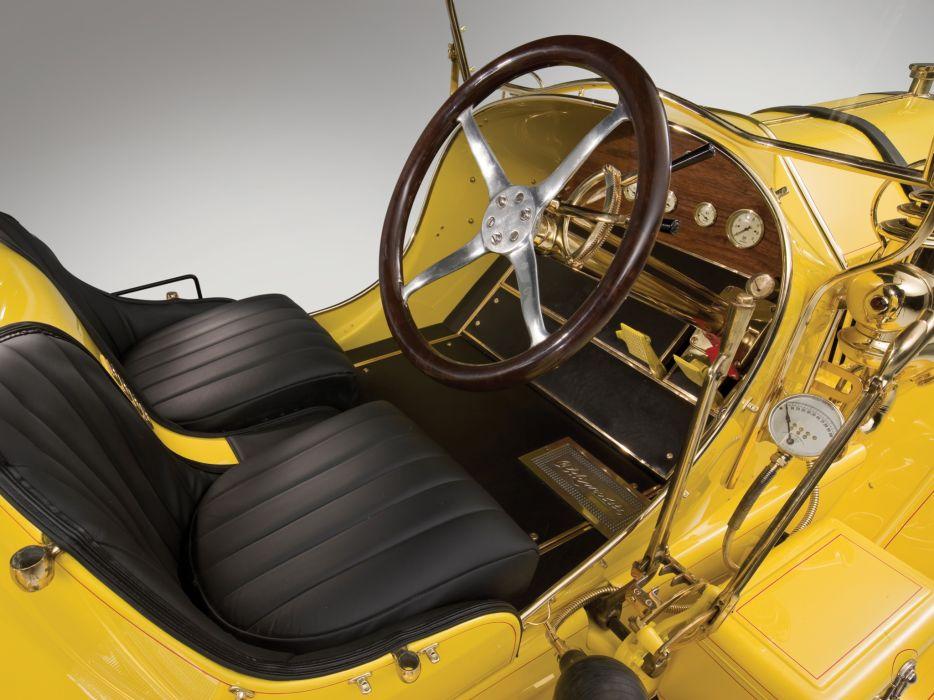 1909 Oldsmobile Autocrat retro race racing interior wallpaper