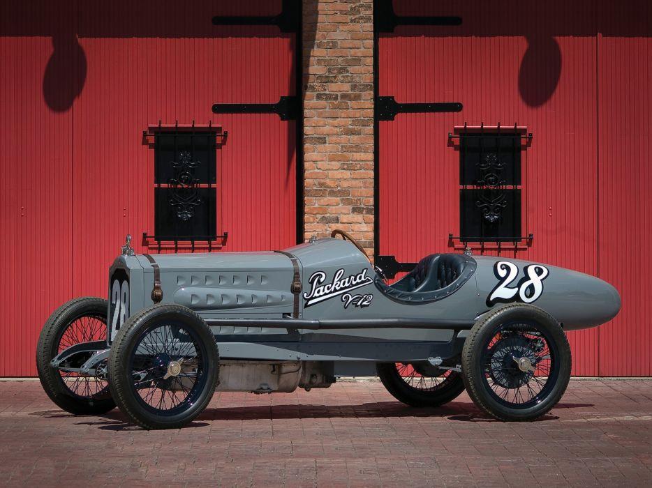 1916 Packard Twin Six Experimental Racer retro race racing     g wallpaper