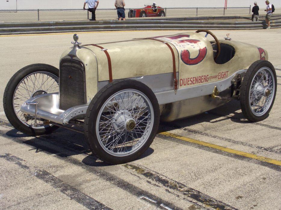 1920 Duesenberg Indy 500 retro race racing wallpaper