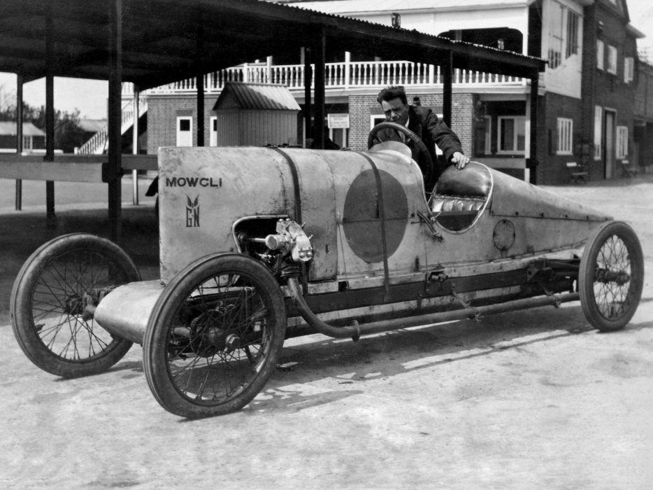 1923 GN-Frazer Nash Brooklands retro race racing b-w wallpaper