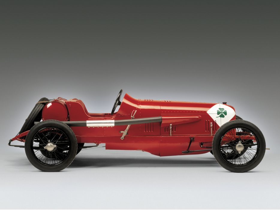 1923 Alfa Romeo R-L Targa Florio retro race racing wallpaper