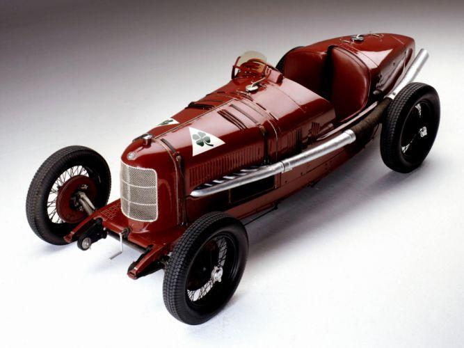 1924 Alfa Romeo Tipo P-2 retro race racing d wallpaper