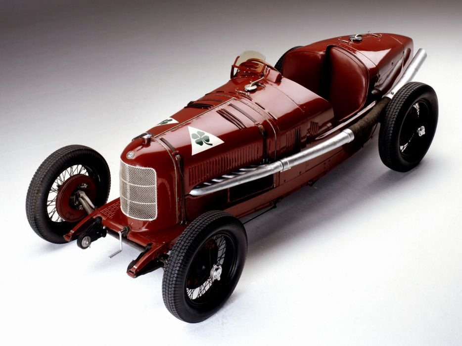 1924 Alfa Romeo Tipo P-2 retro race racing   d wallpaper