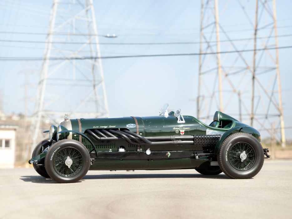 1924 Bentley 3-8 Litre retro race racing     g wallpaper