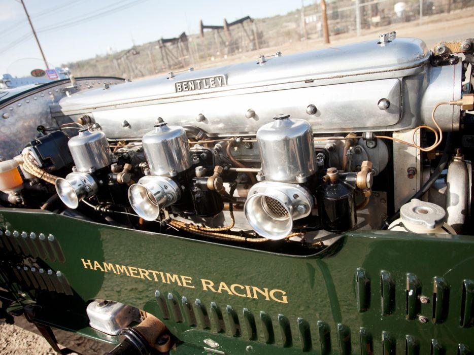 1924 Bentley 3-8 Litre retro race racing engine engines wallpaper