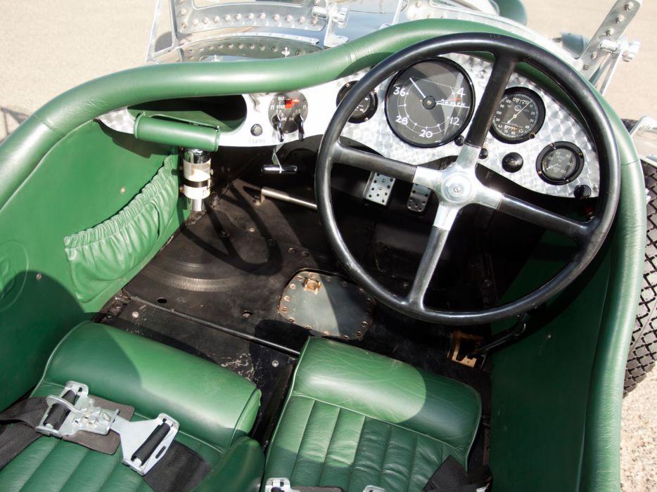 1924 Bentley 3-8 Litre retro race racing interior wallpaper