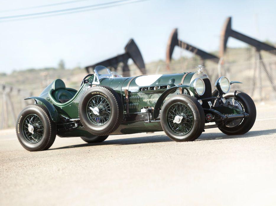 1924 Bentley 3-8 Litre retro race racing t wallpaper