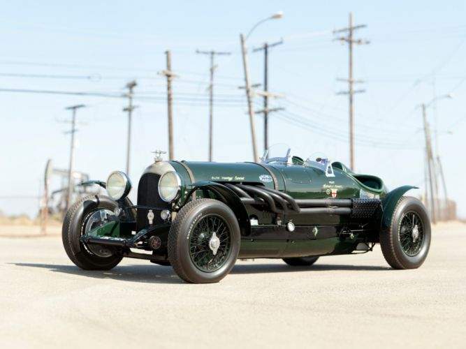 1924 Bentley 3-8 Litre retro race racing wallpaper