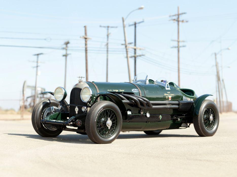 1924 Bentley 3-8 Litre retro race racing wallpaper