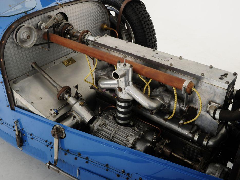 1924 Bugatti Type-35 retro race racing engine engines wallpaper