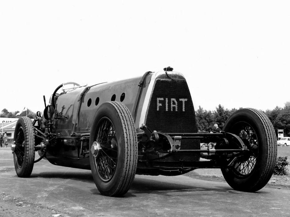 1924 Fiat SB4 Eldridge retro race racing b-w wallpaper