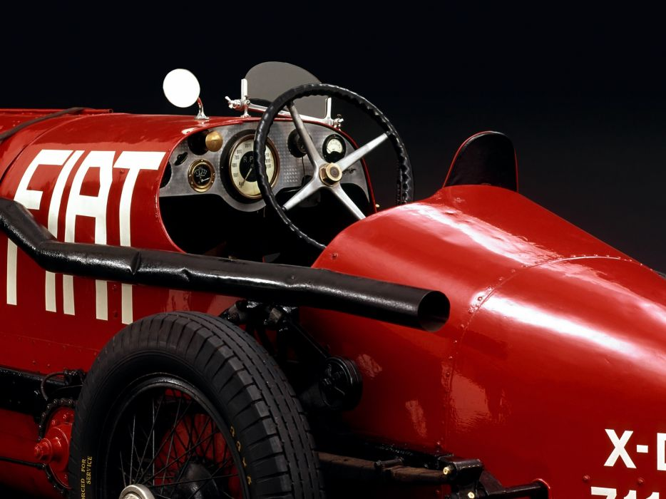1924 Fiat SB4 Eldridge retro race racing interior wallpaper
