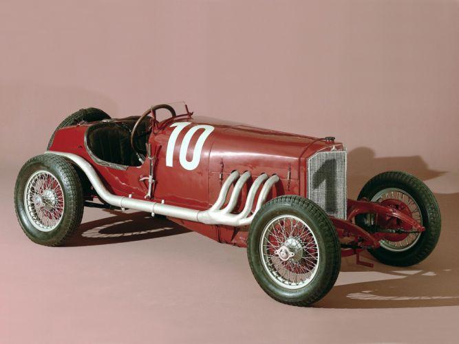 1924 Mercedes Benz 120-HP Targa Florio retro race racing wallpaper