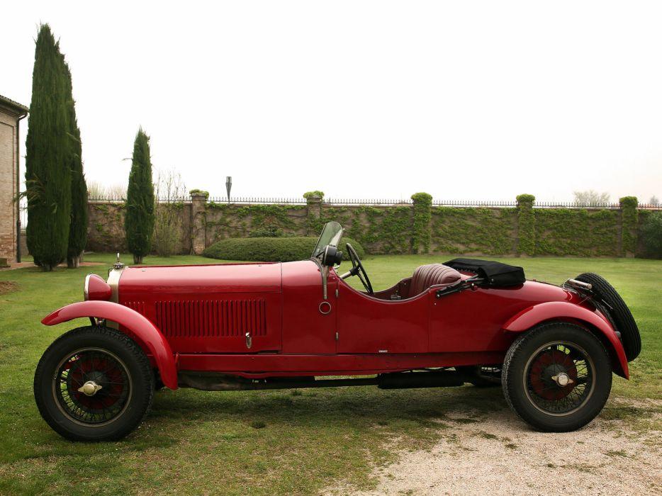 1928 Alfa Romeo 6-C 1500 Mille Miglia Spider retro   g wallpaper