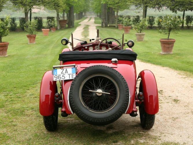 1928 Alfa Romeo 6-C 1500 Mille Miglia Spider retro wheel wheels wallpaper