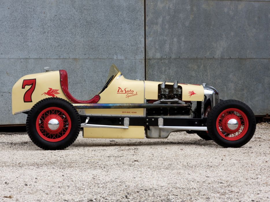 1928 DeSoto Indianapolis retro race racing w wallpaper
