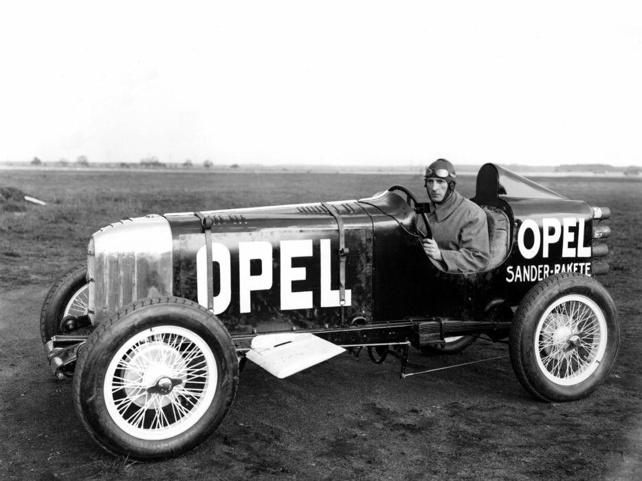 1928 Opel RAK1 retro race racing b-w   g wallpaper
