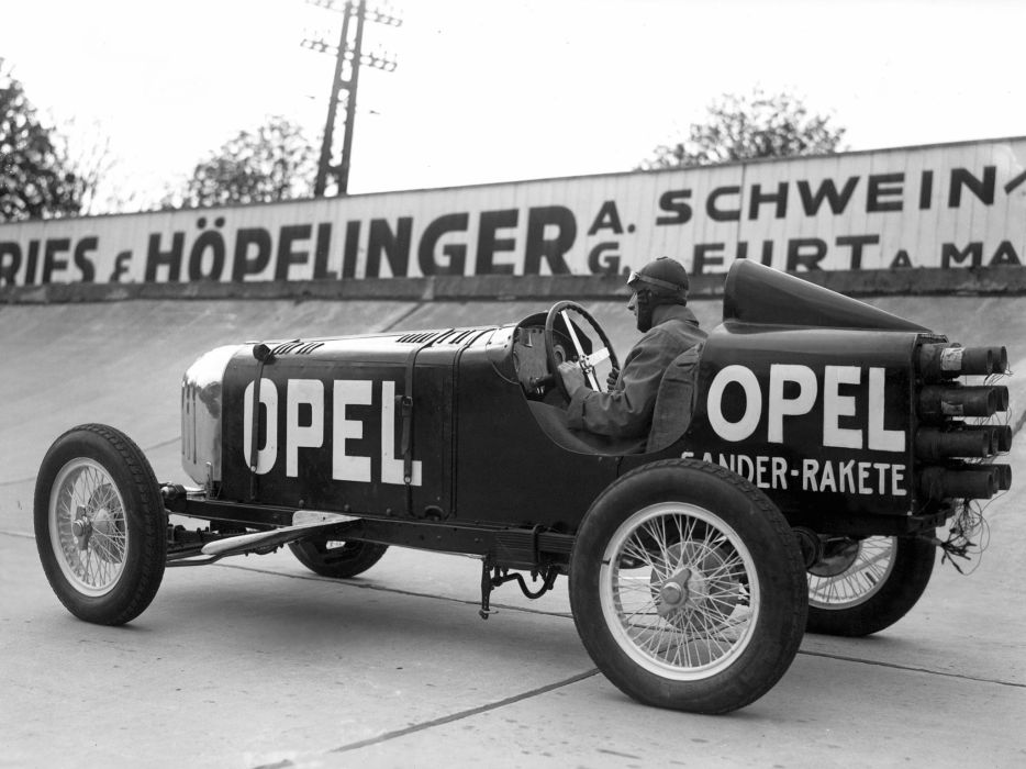 1928 Opel RAK1 retro race racing b-w q wallpaper