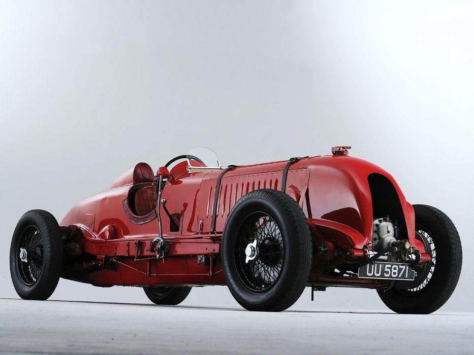 1929 Bentley 4-Litre Supercharged retro race racing wheel wheels  g wallpaper