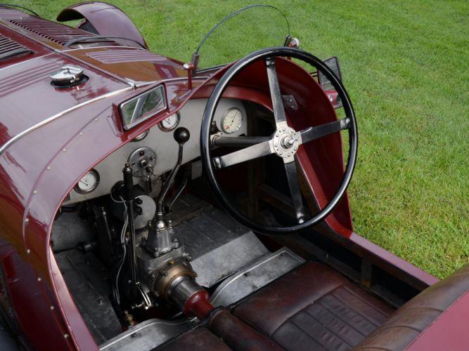 1929 Maserati Tipo V-4 retro race racing interior wallpaper