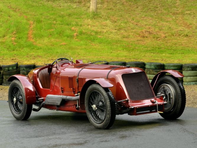 1929 Maserati Tipo V-4 retro race racing u wallpaper