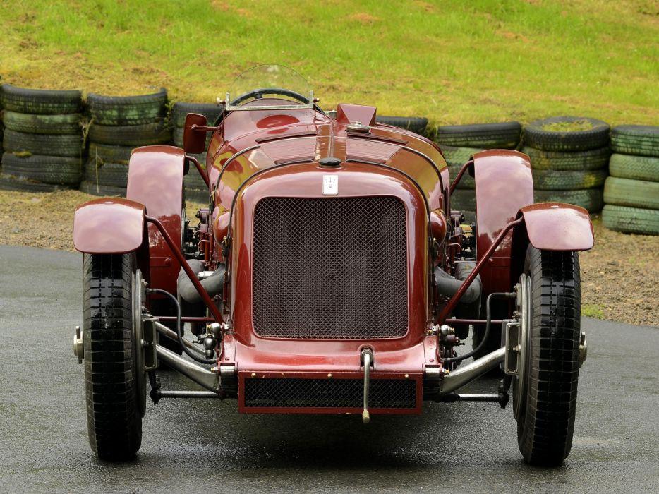 1929 Maserati Tipo V-4 retro race racing wheel wheels  a wallpaper