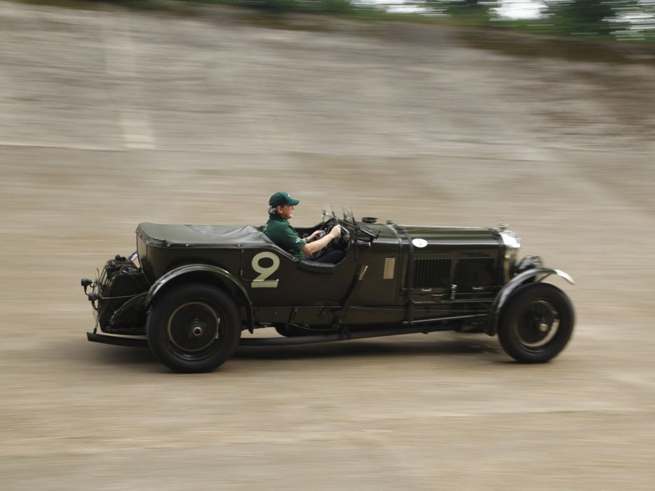1930 Bentley Speed -6 race racing wallpaper