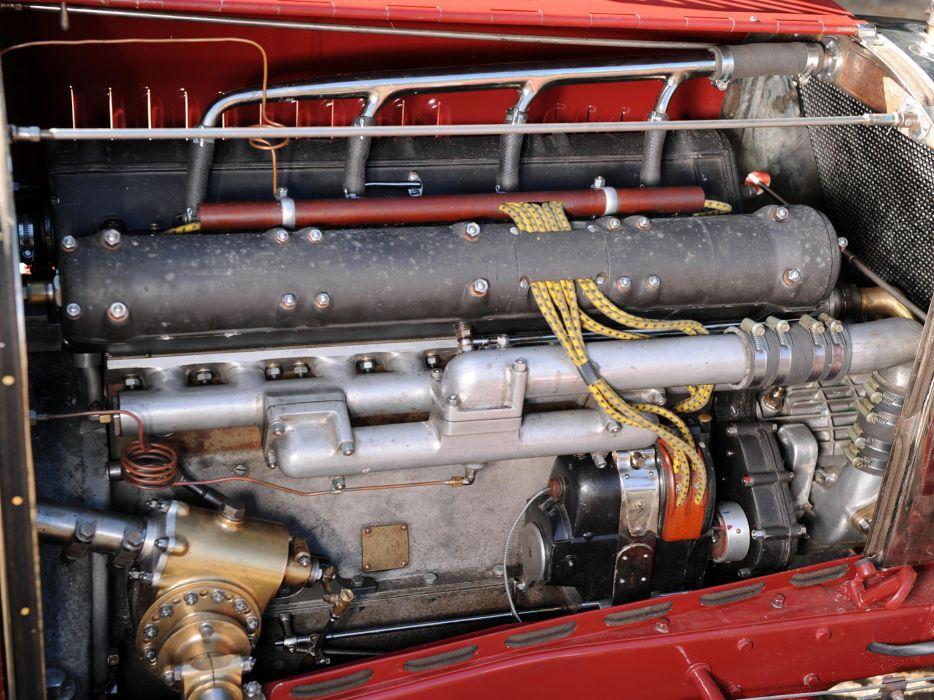 1930 Maserati Tipo 26M Sport retro race racing engine engines wallpaper