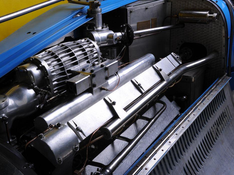 1931 Bugatti Type-54 Grand Prix retro race racing engine engines q wallpaper