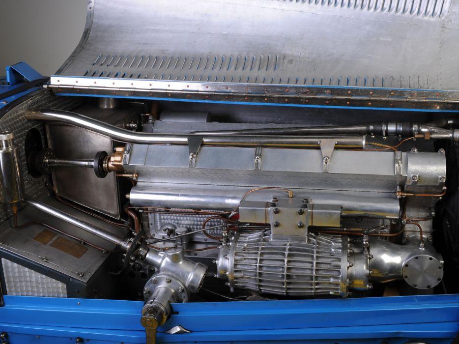 1931 Bugatti Type-54 Grand Prix retro race racing engine engines wallpaper