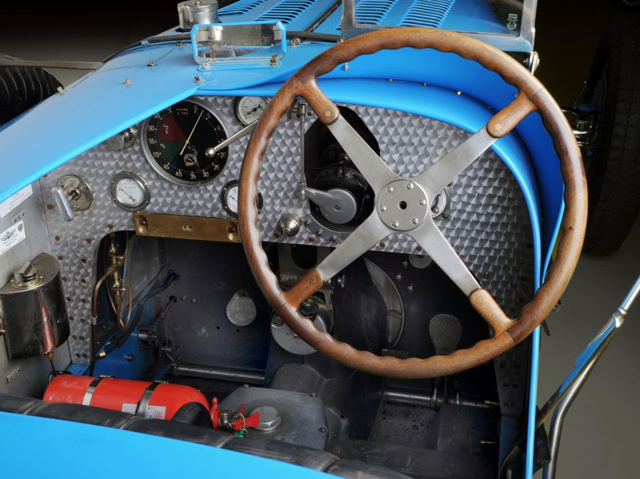 1931 Bugatti Type-54 Grand Prix retro race racing interior wallpaper