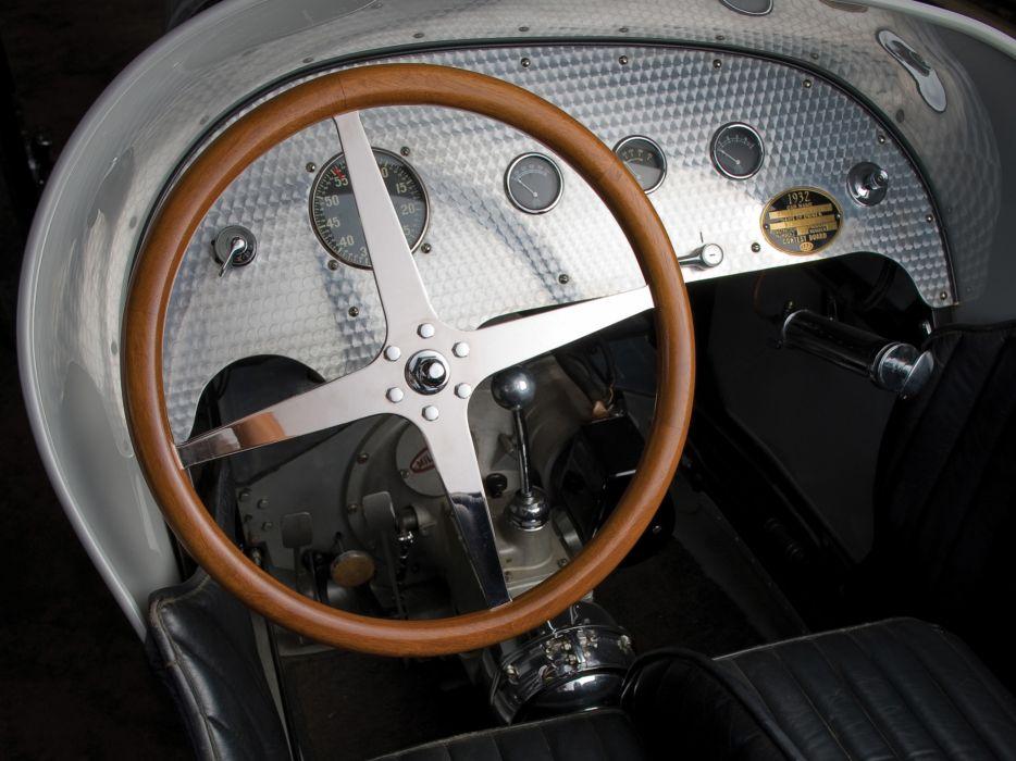 1931 Miller V16 retro race racing interior wallpaper